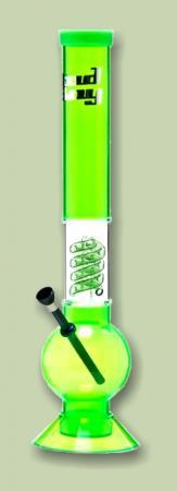 Acryl Bong - mit Glaspart